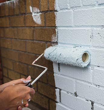 schilderen buitenmuur