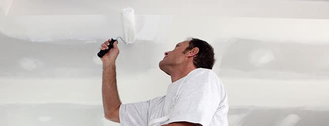 plafond schilderen Merchtem